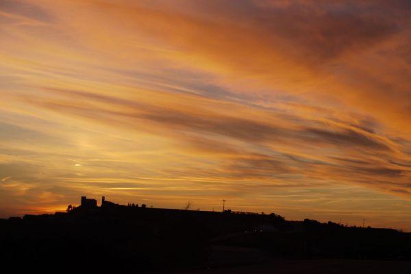 fon posta de sol
