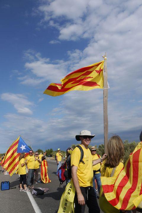 bandera amb pal