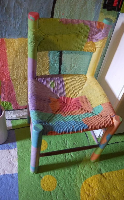 cadira colorins